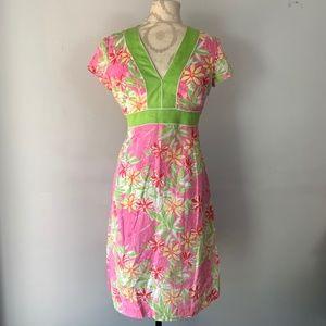 Lilly Pulitzer White Label Garden Vista Dress XS